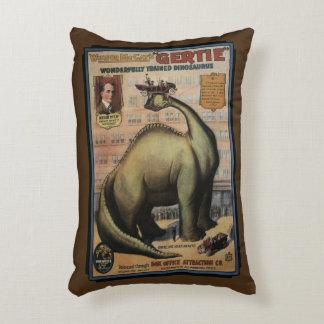 Gertie The Dinosaur Decorative Pillow