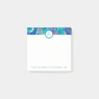 Gertrude Stein Blue Post-it Notes