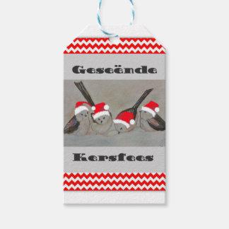 Geseende Kersfees Gift Tags