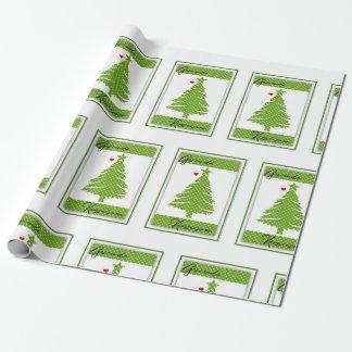 Geseende Kersseisoen Wrapping Paper