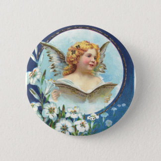Gesegnete Ostern, Blessed Easter 2 Inch Round Button