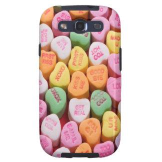 Gesprächs-Herzen Samsung Galaxy SIII Cover