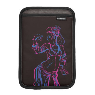 Gesture sketch drawing  tribal fusion bellydancer iPad mini sleeve