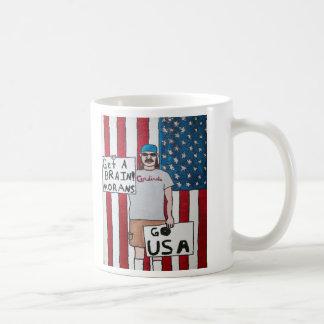 Get A Brain! Coffee Mug