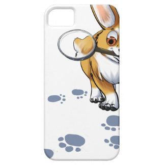 """""""Get a Clue"""" Corgi iPhone 5 Case"""
