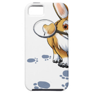 """Get a Clue"" Corgi iPhone 5 Cases"