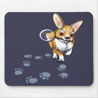 Get a Clue Corgi Mouse Pad