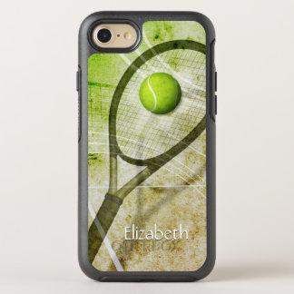 Get a Grip women's tennis OtterBox Symmetry iPhone 7 Case