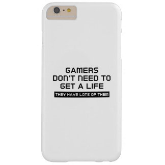 Get A Life Barely There iPhone 6 Plus Case