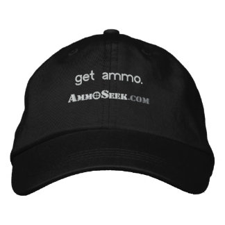 Get Ammo AmmoSeek Logo Cap Embroidered Baseball Caps
