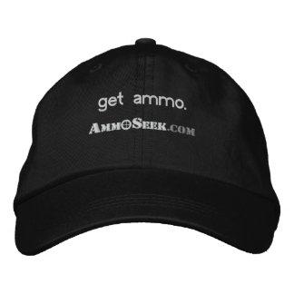 Get Ammo AmmoSeek Logo Cap Baseball Cap