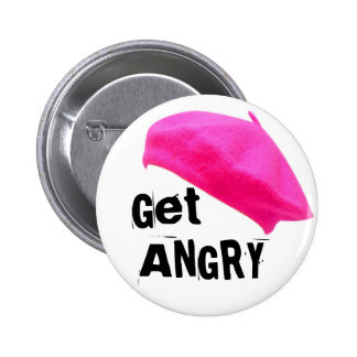 Get Angry 2 Inch Round Button