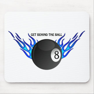 Get Behind the 8 BALL Mouse Pad