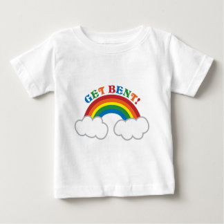 GET BENT! with cute rainbow T Shirt