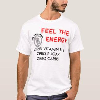 Get Blasted Logo, 4900% VITAMIN B12ZERO SUGARZE... T-Shirt
