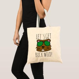 Get Buck Wild Tote Bag