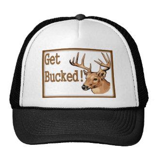 Get Bucked Deer Trucker Hat