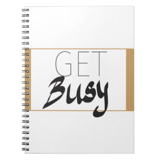Get busy notebooks