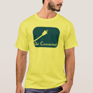 Get Connected.  Electric. T-Shirt