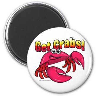 Get Crabs! Magnet