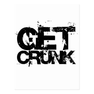 get crunk postcard