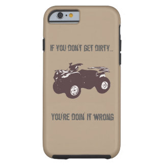 """Get Dirty"" ATV Phone Case"