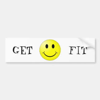 GET FIT BUMPER STICKER