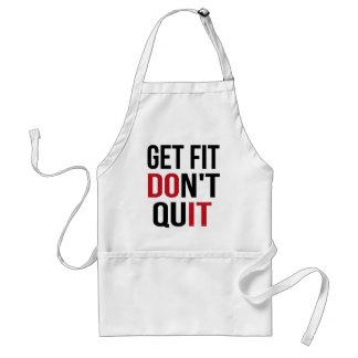 Get Fit Don't Quit - DO IT Standard Apron