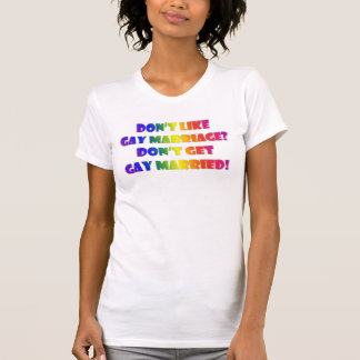 Get Gay Married Deluxe T-Shirt