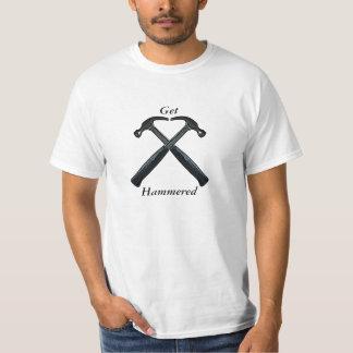 Get Hammered - Drinking Home Reno Worker Tshirt