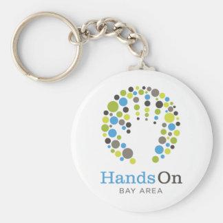 Get HandsOn Gear! Basic Round Button Keychain