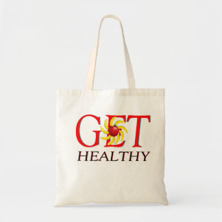 Get Healthy Canvas Bag