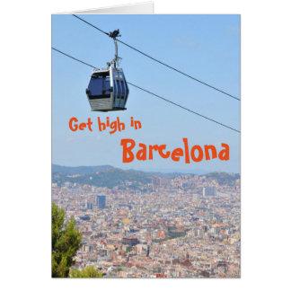 Get high in Barcelona Card