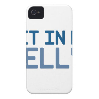 Get in My Belly iPhone 4 Case