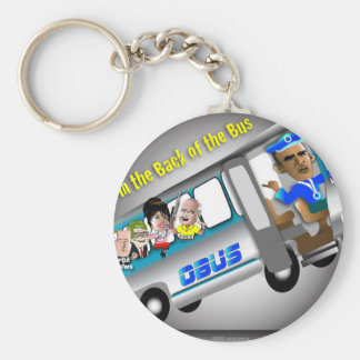 Get In the Back of the Bus Keychain
