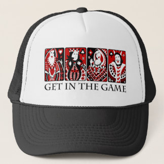 Get In The Game Trucker Hat
