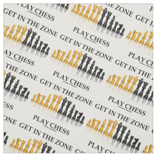 Get In The Zone Play Chess Advice Chess Set Pieces Fabric