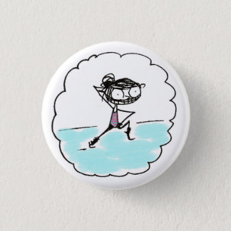 get it, girl 1 inch round button