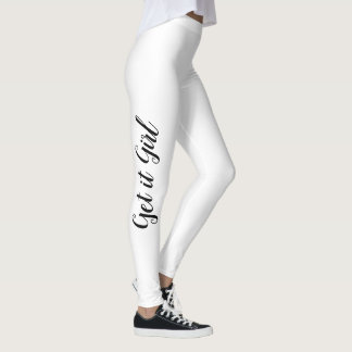 Get it Girl Leggings - Motivational Workout Pants