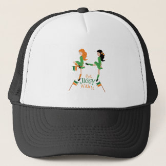 Get Jiggy Trucker Hat