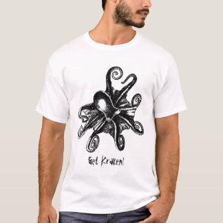 Get Kraken! Cthulu Octopus STeampunk tshirt