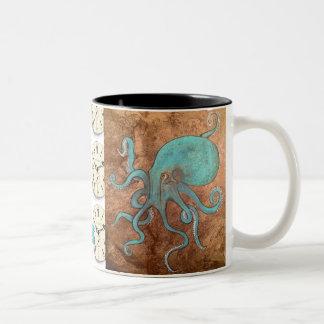 get kraken! Two-Tone coffee mug