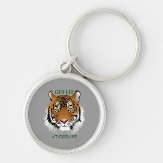 Get Lit Premium #TIGERLIFE Key Chain