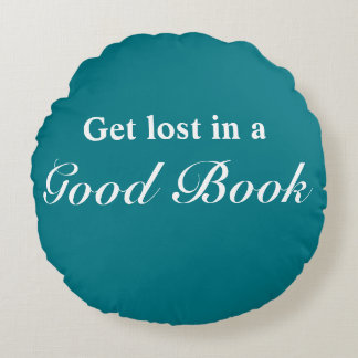 Get Lost in a Good Book Throw Pillow