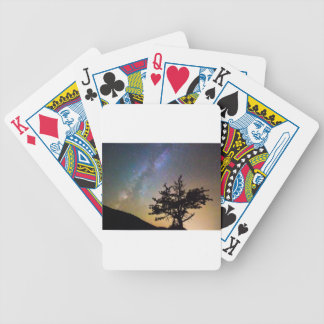 Get Lost In Space Bicycle Playing Cards