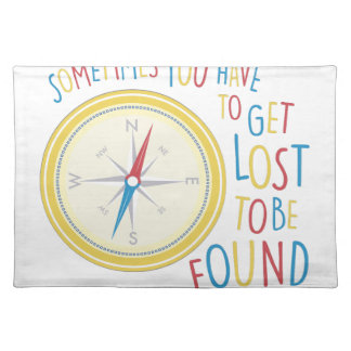 Get Lost Place Mat
