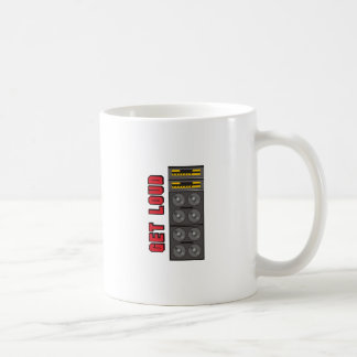 GET LOUD COFFEE MUGS