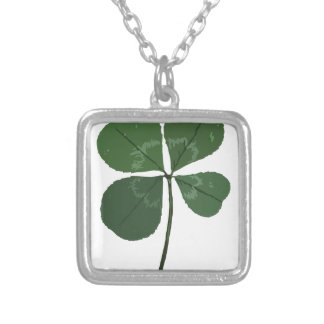 Get Lucky Silver Plated Necklace