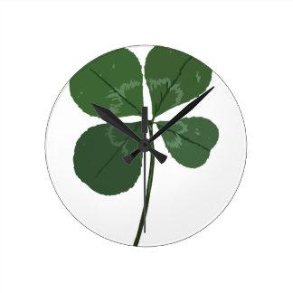 Get Lucky Wall Clock