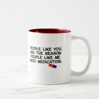 Get Medicated Two-Tone Coffee Mug